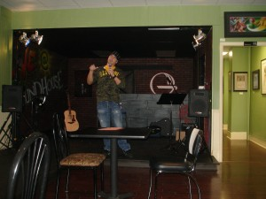 Corey Kastle performing at The Ground House in Pitman NJ
