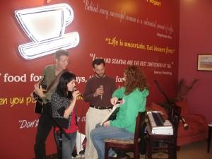 Jeff Conoway, Sarah Bucknam, Eric, and Kellen